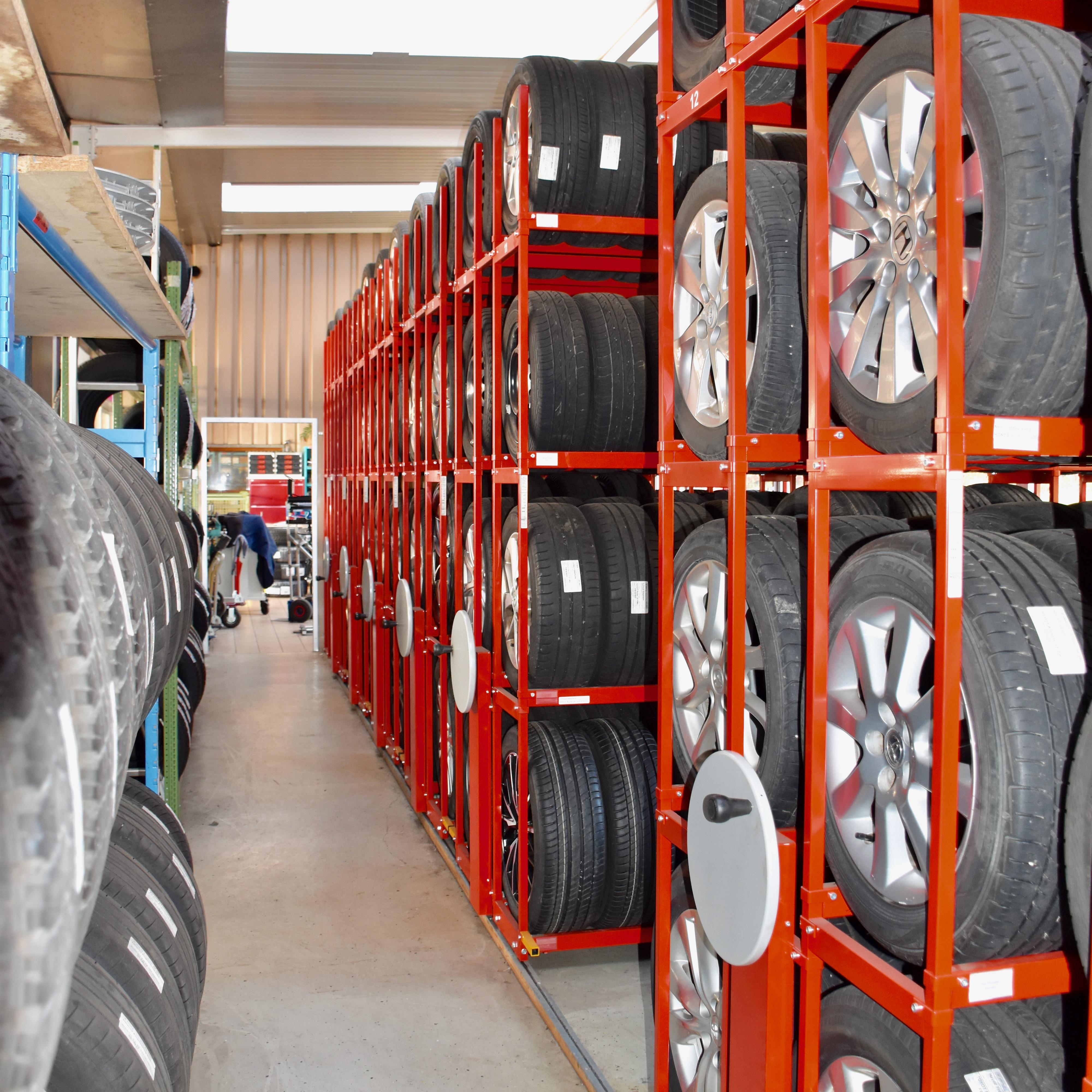 Stockage de vos roues